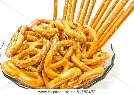 Tasty Pretzels And Breadsticks
