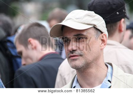 The Oppositionist Igor Mandarinov On An Oppositional Action
