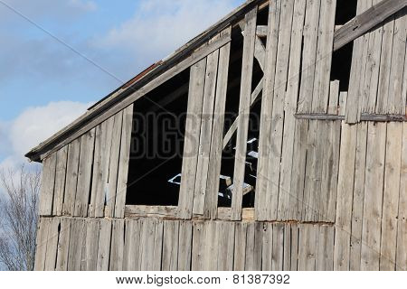 Barn, Missing Boards