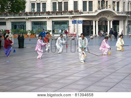 Shanghai Tai Chi Sword