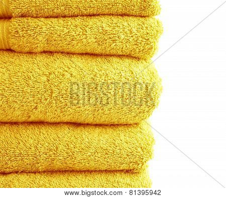 Terry cloth bath towel composition