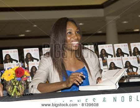 Venus Williams on Book Tour