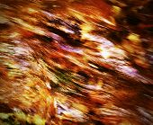 picture of fiery  - abstract background or texture red fiery water texture - JPG