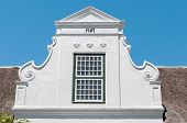 pic of south-western  - Building in Paarl in the Western Cape Province of South Africa - JPG