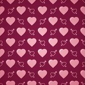 foto of avow  - Lovely heart romantic pink pattern - JPG