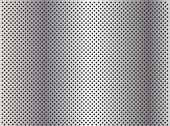 image of metal grate  - High resolution concept conceptual gray metal stainless steel aluminum perforated pattern texture mesh background - JPG