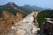 picture of qin dynasty  - This is the authentic Simatai section of the Great Wall of China situated north of Beijing - JPG