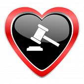 image of day judgement  - auction icon court sign verdict symbol  - JPG