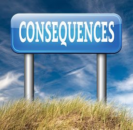 stock photo of take responsibility  - consequences facing facts and accept consequence of acts take and face responsibilities - JPG
