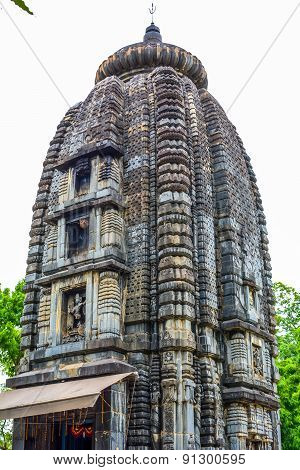 Old stone carved Hindu temple