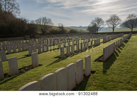 First world war military cemetary