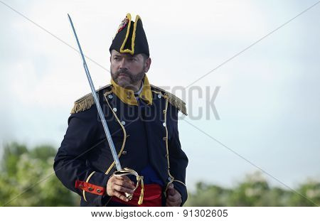 Portrait Of Marshal With Sabre