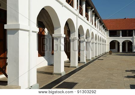 Old Hospital Building In Fort Galle, Sri Lanka