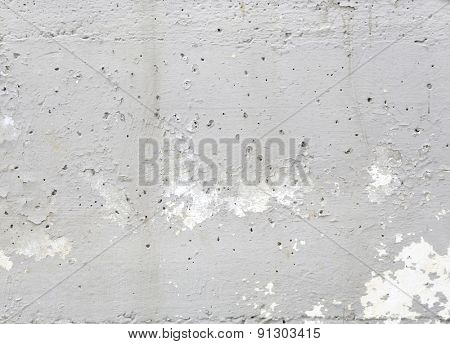 white textured concrete wall.
