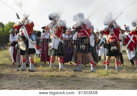 Scottish Infantry Shooting