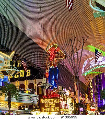 Fremont Street in Las Vegas Nevada