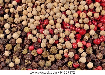 Heap Of Colored Pepper