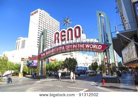 Reno The Biggest Little City In The World.