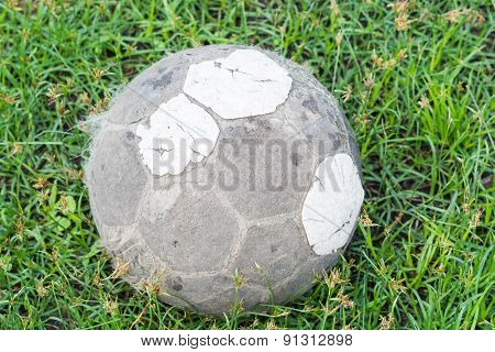 Very Old Football Football