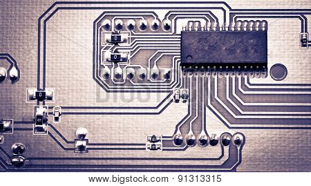 Pcb  For Use As Background