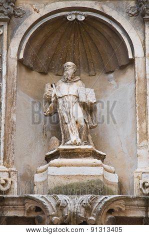 Church of St. Riccardo. Andria. Puglia. Southern Italy.