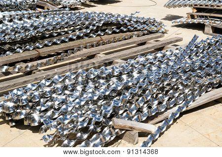 Aluminium Helical Strips