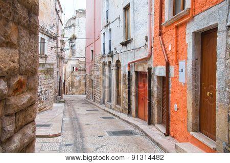 Alleyway. Andria. Puglia. italy.