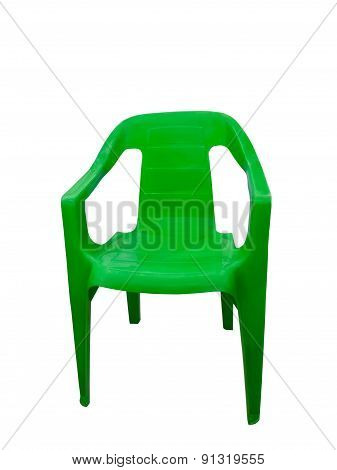 Green Plastic Chair
