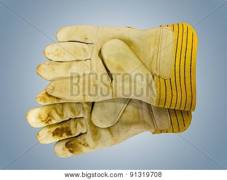 Work Leather Gloves