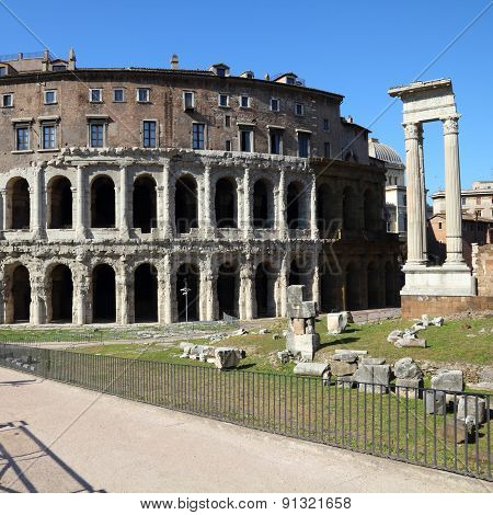 Ancient Roman Landmark