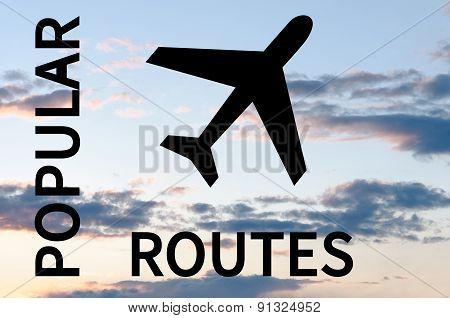 Popular routes