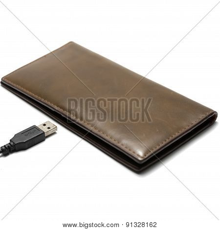 Usb Cable And Wallet