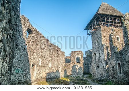 Castle In Village Nevicke, Ukraine