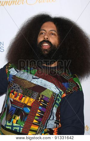LOS ANGELES - MAY 18:  Reggie Watts at the CBS Summer Soiree 2015 at the London Hotel on May 18, 2015 in West Hollywood, CA