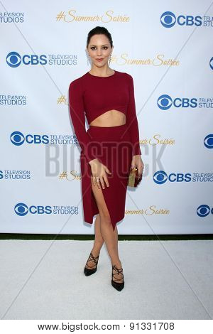 LOS ANGELES - MAY 18:  Katharine McPhee at the CBS Summer Soiree 2015 at the London Hotel on May 18, 2015 in West Hollywood, CA