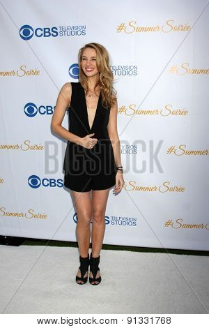 LOS ANGELES - MAY 18:  Yael Grobglas at the CBS Summer Soiree 2015 at the London Hotel on May 18, 2015 in West Hollywood, CA