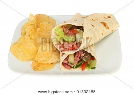 Wraps And Crisps