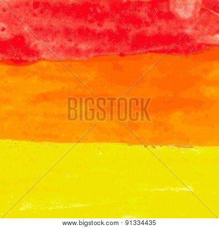 Abstract Watercolor Splash Background Vector Illustration
