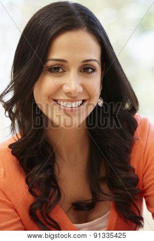 Hispanic woman portrait