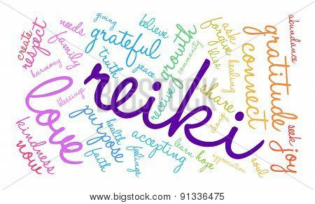Reiki Word Cloud