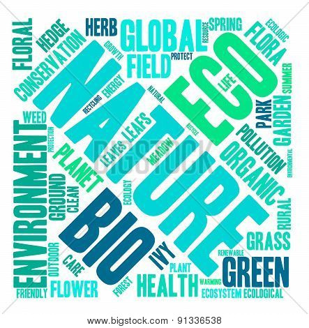Nature Word Cloud