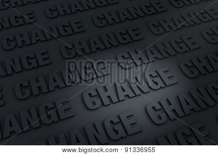 Dark Background Of Change
