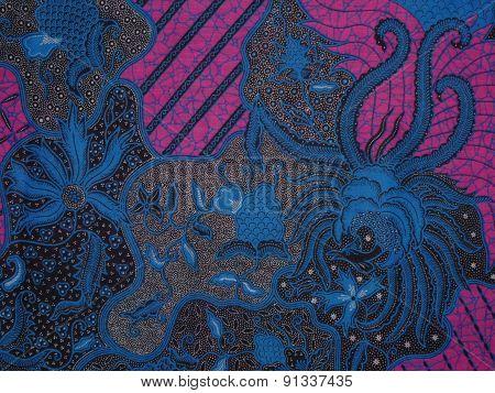 abstract motif batik