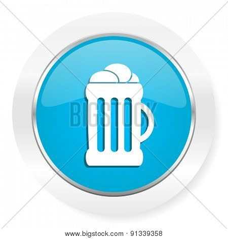 beer icon mug sign