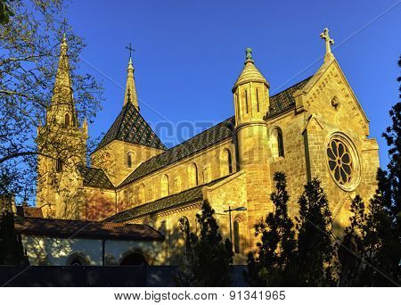 Collegiate Church, Neuchatel, Switzerland