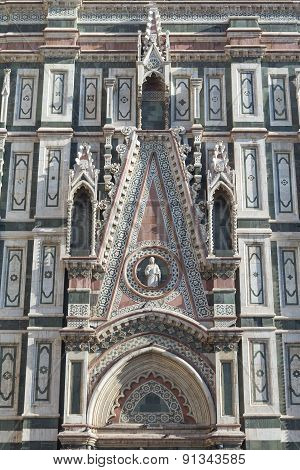 Closeup Of The Dome Of Santa Maria Del Fiore In Florence (italy)