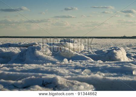 Ice In Harbor