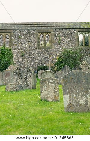 A cropped view of the Cemetery In Arundel