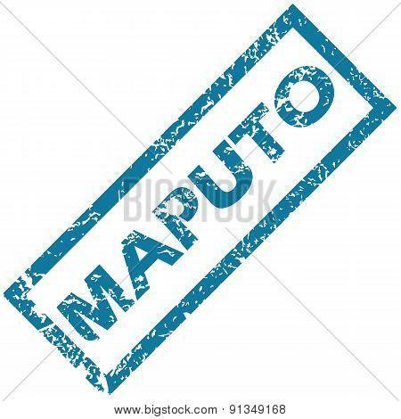 Maputo rubber stamp