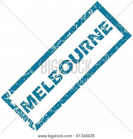Melbourne rubber stamp